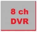 8 kanalni snimači